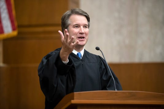 Justice Kavanaugh's First Opinion